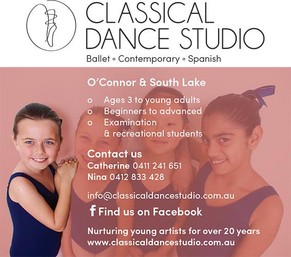 Classical Dance Studio Advert 3.indd