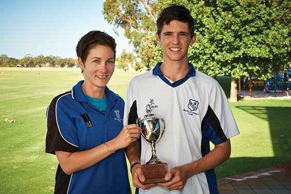 • Cricketers Amanda Williams and Hugh Atkinson were both diagnosed with sarcoma.