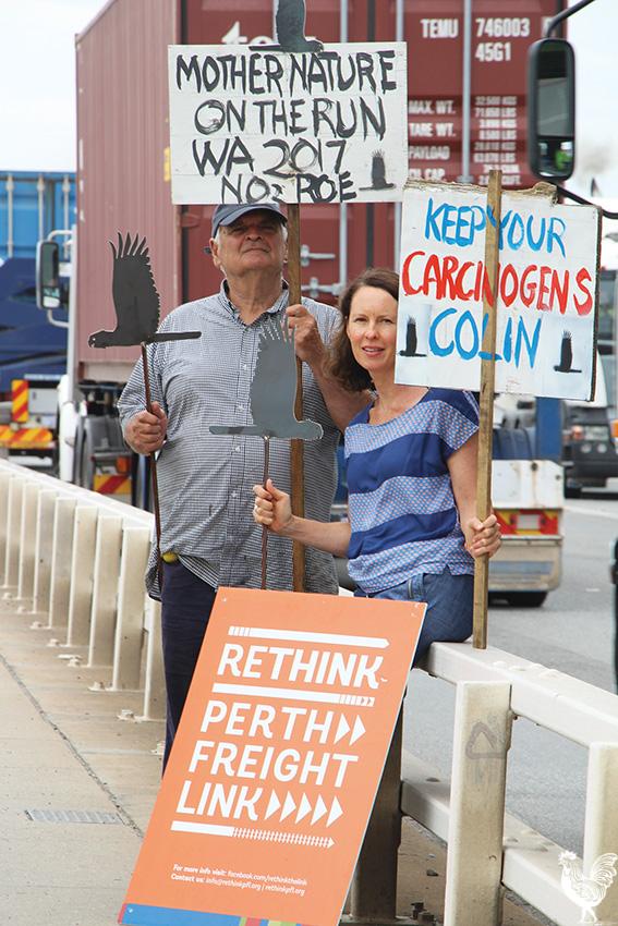 • Tony Jones and Catriona Cameron on Stirling Bridge. PhotobySteve Grant